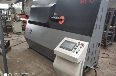 preço de fábrica máquina de dobra de estribo automático com fio duplo