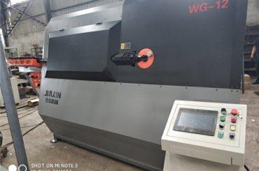 Máquina de dobra automática hidráulica do fio do cnc 2D de 4-12mm fornecedor