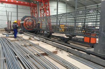 o melhor preço soldou a máquina do rolo da rede de arame, diâmetro de reforço 500-2000mm do soldador da emenda da gaiola
