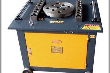 máquina de dobra de rolagem de ferro forjado