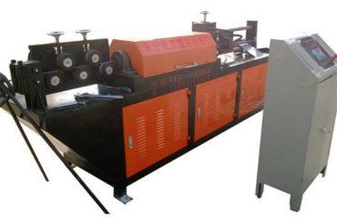 endireitamento de arame hidráulico automático e máquina de corte